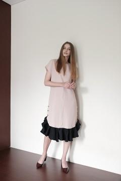Nude Maura Dress