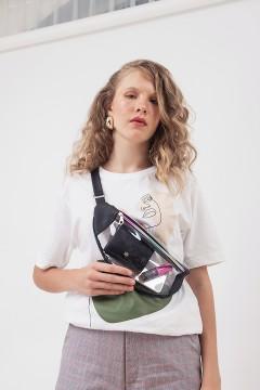 Vinyl Waist Bag