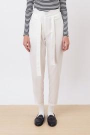 White Valma Pants