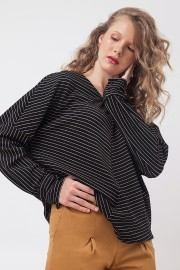 Black Stripes Zee Sweater