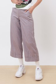 Plaid Stitched Pants