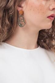 People Face Earrings