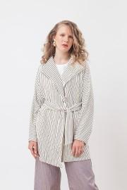 White Stripes Hailey Outer