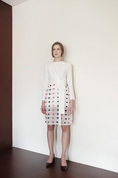 White Domino Dress