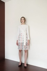 White Domino Dress