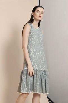 Grey Belle Dress