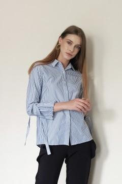 Blue Stripes Wufi Shirt