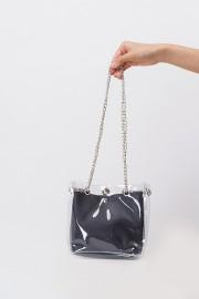 Vinyl Bucket Bag