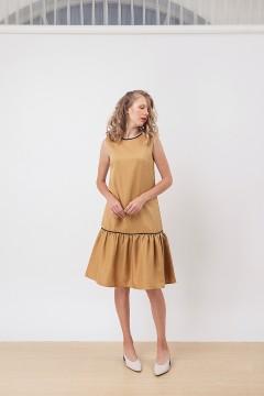 Mustard Belle Dress