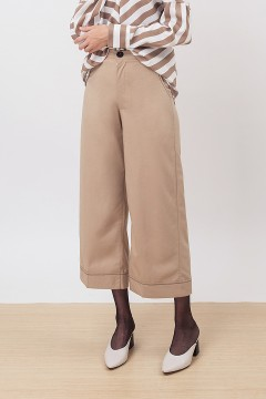 Khaky Stitched Pants