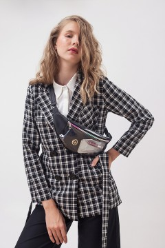 Checked Elliot Blazer