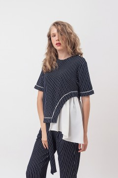 Pinstripes Giselle Top
